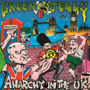 "Green Jelly - Anarchy In The U.K. (7"") (VG-/VG-)"